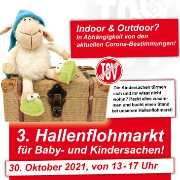 3. Hallenflohmarkt für Baby- und Kindersachen!
